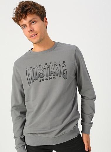 Mustang Sweatshirt Gri